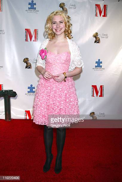 Nellie McKay during Comedy Love Call Benefiting Autism Education and Research - Inside Arrivals at Beacon Theater in New York City, New York, United...