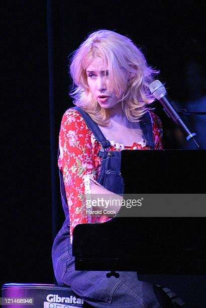 Nellie McKay during Jamie Cullum and Nellie McKay Perform Live with Special Guest Raul Midon - August 19, 2004 at Delacorte Theater in New York, New...