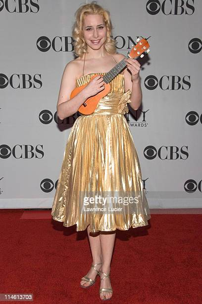 """Nellie McKay from """"The Threepenny Opera"""" during 60th Annual Tony Awards - Arrivals at Radio City Music Hall in New York City, New York, United States."""