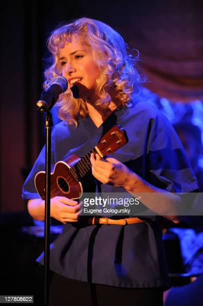Nellie McKay performs at Feinstein's at Loews Regency Ballroom on March 22, 2011 in New York City.