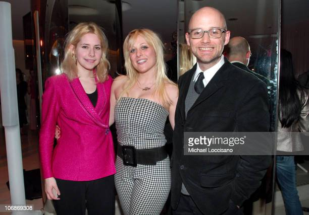 Nellie McKay, Princess Superstar and Moby during Olympus Fashion Week Fall 2006 - Pamela Anderson Hosts PeTA's Fashion Week Bash at Stella McCartney...