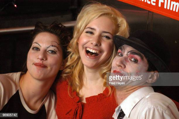 Nellie McKay with Amanda Palmer and Brian Viglione of The Dresden Dolls