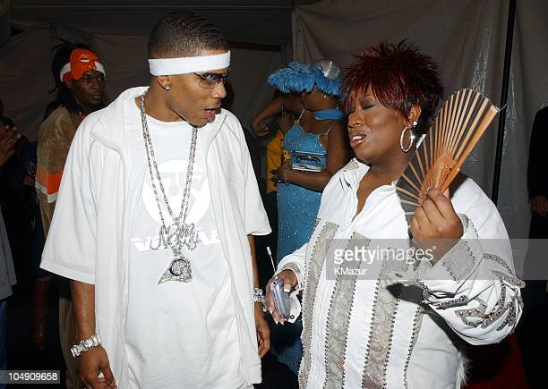 Nelly and Missy Elliott during 2001 MTV Video Music Awards Audience and Backstage at The Metropolitan Opera House at Lincoln Center in New York City...