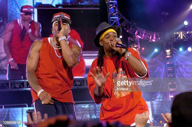 Nelly and Murphy Lee during 2004 Summer Music Mania Airing June 1st at 8pm on the FOX Network in Phoenix Arizona United States