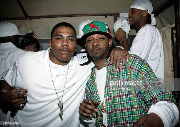 Nelly and Murphy Lee during Carmelo Anthony's NBA AllStar Party Hosted by Nelly at Palladium in Denver Colorado United States