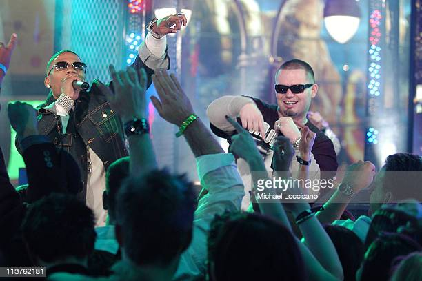 Nelly and Paul Wall during New Year's 2006 in New York City MTV New Year's Bash at MTV Studios in New York City New York United States