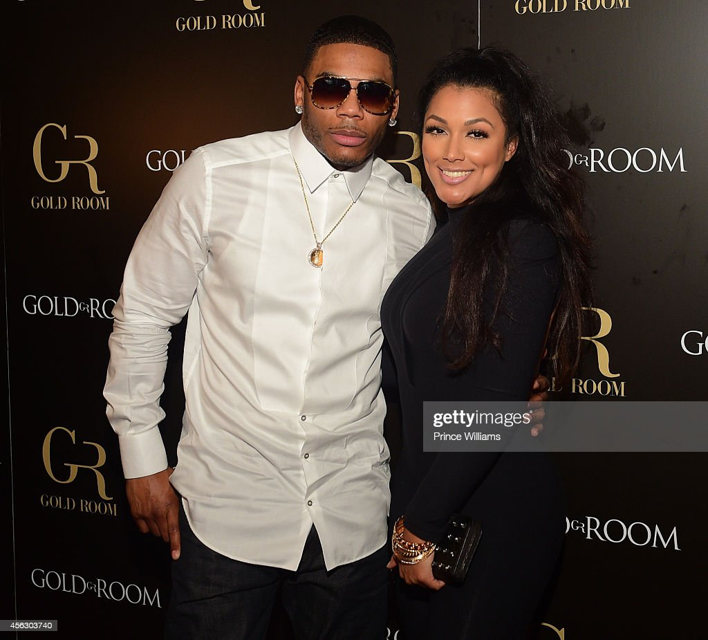 Nelly Hosts Gold Room