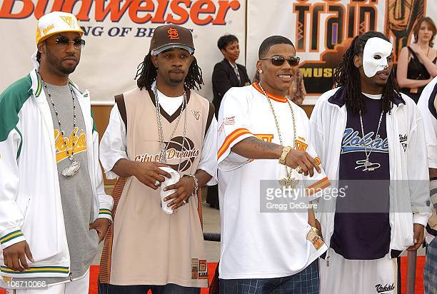 Nelly and St. Lunatics during The 17th Annual Soul Train Music Awards - Arrivals at Pasadena Civic Auditorium in Pasadena, California, United States.