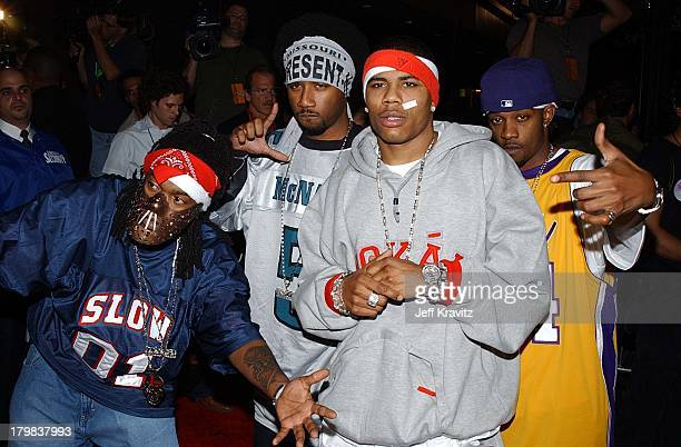 Nelly and the St. Lunatics during Michael Jackson Tribute Celebrating 30th Anniversary of His Solo Years at Madison Square Garden in New York City,...