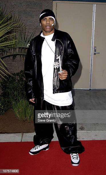 Nelly arriving at the 2001 Billboard Music Awards during 2001 Billboard Music Awards Arrivals at MGM Grand Hotel in Las Vegas Nevada