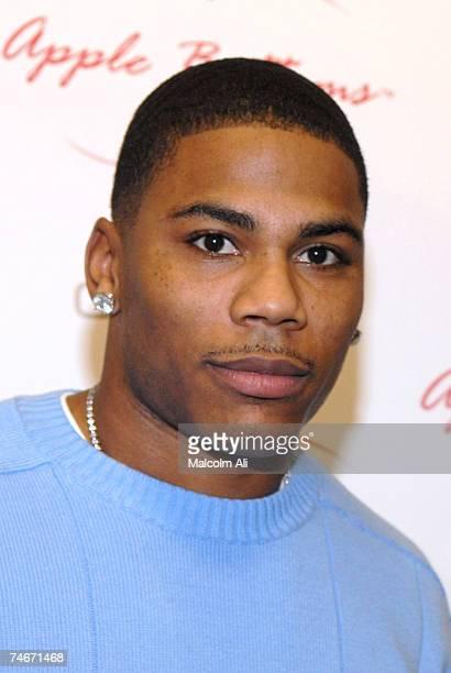 Nelly at the Demo in Culver City, California