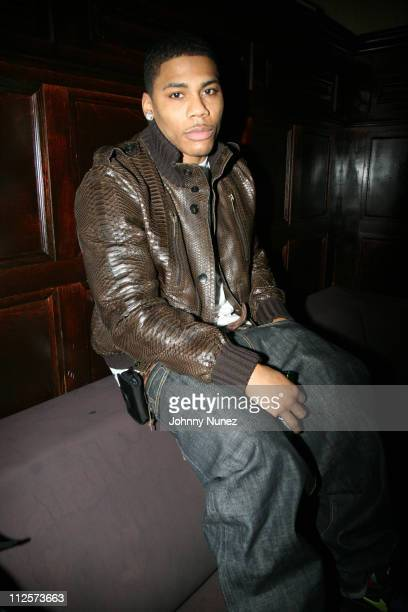 Nelly attends Birthday Celebration for Dwight Freeney of the Indianapolis Colts at The Plumm February 19 2008 New York City