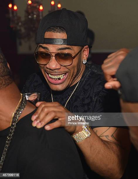 Nelly attends Hip Hop Awards Grande Finale Hosted by Jeezy Future at Velvet Room on September 21 2014 in Chamblee Georgia