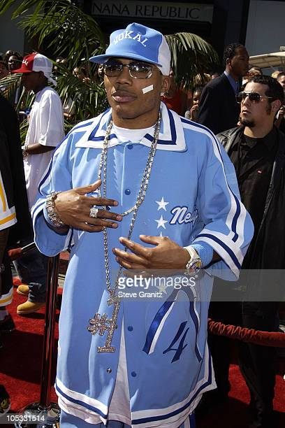 Nelly during The 2nd Annual BET Awards Arrivals at The Kodak Theater in Hollywood California United States