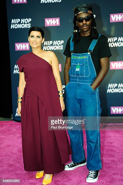 Nelly Furtado and Dev Hynes attends the VH1 Hip Hop Honors All Hail The Queens at avid Geffen Hall on July 11 2016 in New York City