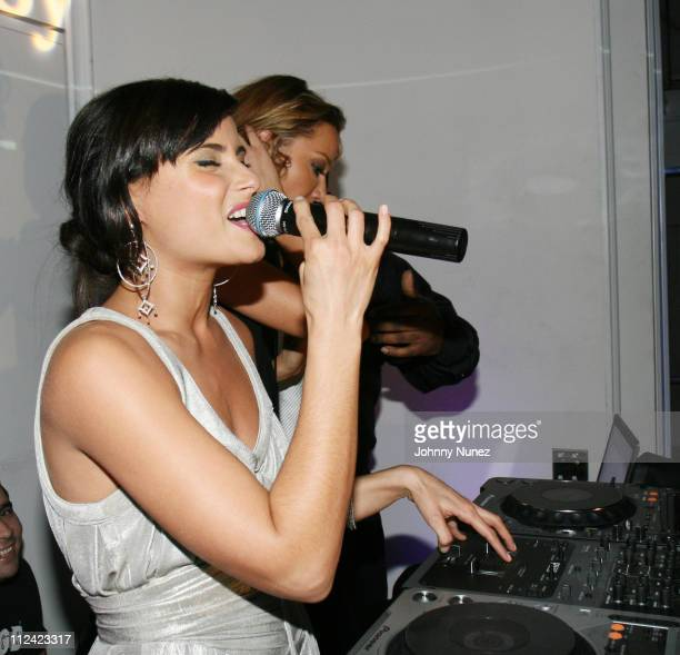 Nelly Furtado and DJ Sky Nellor during Entertainment Weekly Mosely Music Group and Hennessy Present A Toast To Timbaland at BOULEVARD3 in Los Angeles...