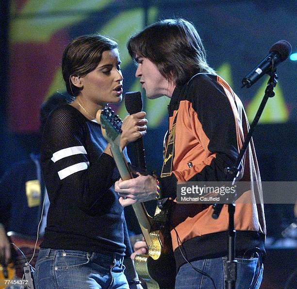 Nelly Furtado and Juanes