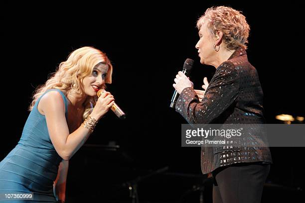Nelly Furtado and Musician Anne Murray performs at The 6th Annual 'It's Always Something' Variety Show in Support of the Gilda's Club at the Elgin...