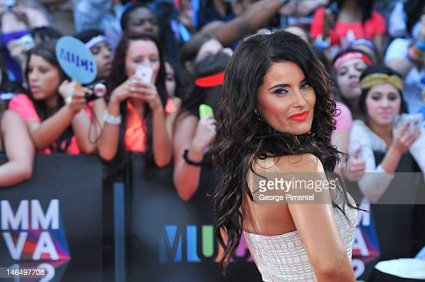 Nelly Furtado arrives at 2012 MuchMusic Video Awards at MuchMusic HQ on June 17, 2012 in Toronto, Canada.