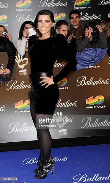 Nelly Furtado arrives at the ''40 Principales'' Awards at the Palacio de Deportes on December 11, 2009 in Madrid, Spain.