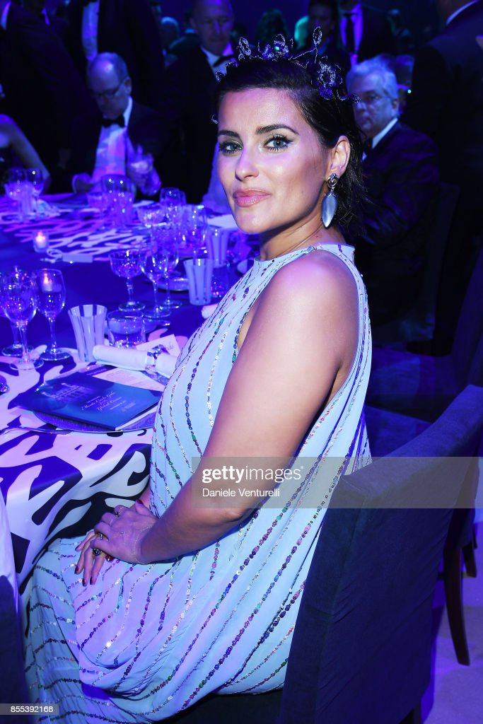 Nelly Furtado attends the dinner for the inaugural 'Monte-Carlo Gala for the Global Ocean' honoring Leonardo DiCaprio at the Monaco Garnier Opera on September 28, 2017 in Monaco, Monaco.