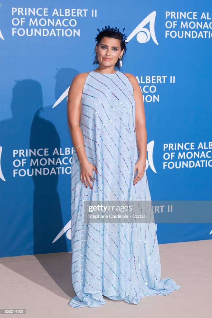 Nelly Furtado attends the Inaugural 'Monte-Carlo Gala For The Global Ocean' Honoring Leonardo DiCaprio at The Monaco Garnier Opera on September 28, 2017 in Monaco, Monaco.