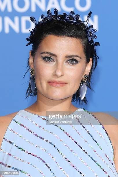 "Nelly Furtado attends the inaugural ""Monte-Carlo Gala for the Global Ocean"" honoring Leonardo DiCaprio at the Monaco Garnier Opera on September 28,..."