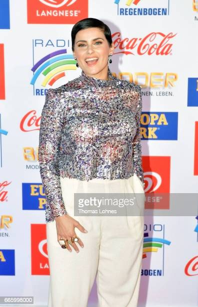 Nelly Furtado attends the Radio Regenbogen Award 2017 at Europapark on April 7, 2017 in Rust, Germany.