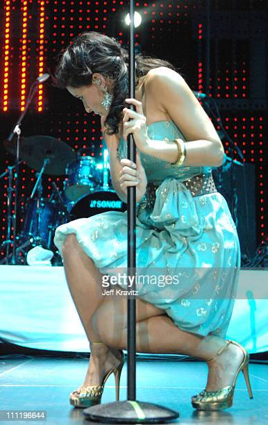 "Nelly Furtado during 102.7 KIIS FM ""Jingle Ball"" 2006 at Honda Center in Anaheim, CA, United States."
