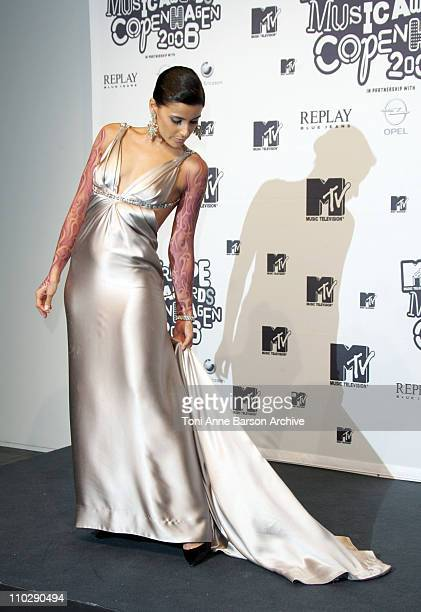 Nelly Furtado during 2006 MTV European Music Awards Copenhagen - Press Room at Bella Centre in Copenhagen, Denmark.