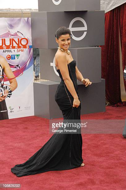 Nelly Furtado during 2007 Juno Awards Arrivals at Credit Union Centre in Saskatoon Saskatchewan Canada