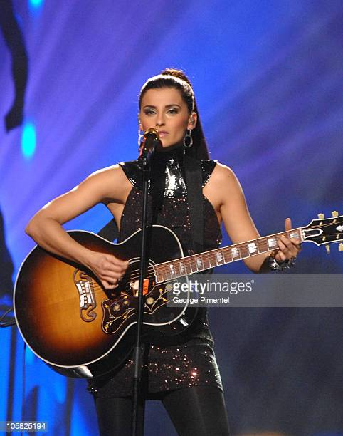 Nelly Furtado during 2007 Juno Awards - Show at Credit Union Centre in Saskatoon, Saskatchewan, Canada.
