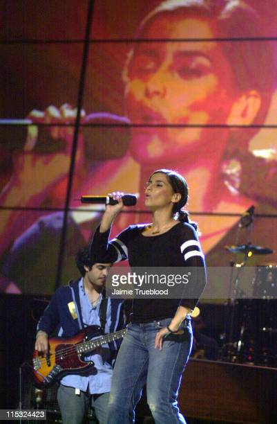 Nelly Furtado during 3rd Annual Latin GRAMMY Awards Rehearsals Day 1 at The Kodak Theatre in Hollywood California United States