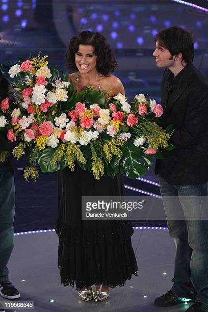 Nelly Furtado during 57th San Remo Music Festival - Day 3 at Teatro Ariston in Sanremo, Italy.