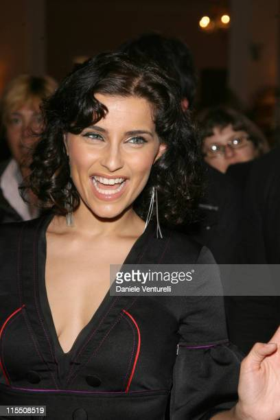 Nelly Furtado during 57th San Remo Music Festival - Nelly Furtado Sighting at Teatro Ariston in Sanremo, Italy.