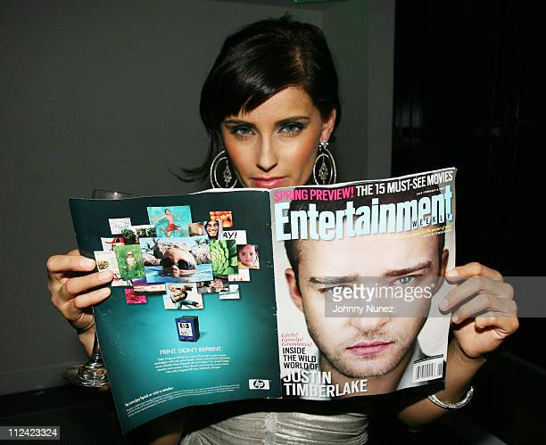 "Nelly Furtado during Entertainment Weekly, Mosely Music Group and Hennessy Present ""A Toast To Timbaland"" at BOULEVARD3 in Los Angeles, California,..."