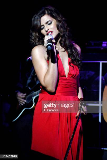 Nelly Furtado during Lifebeat Honors Scott Greenstein SIRIUS President of Entertainment and Sports June 21 2006 at Pacha in New York City New York...