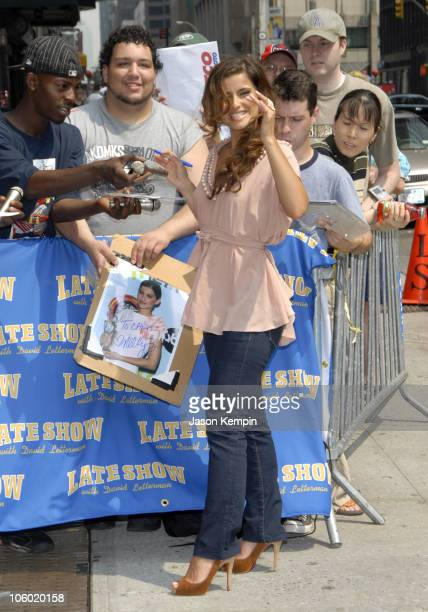 "Nelly Furtado during Nelly Furtado Arrives at ""The Late Show with David Letterman"" - July 11, 2006 at The Ed Sullivan Theater in New York City, New..."