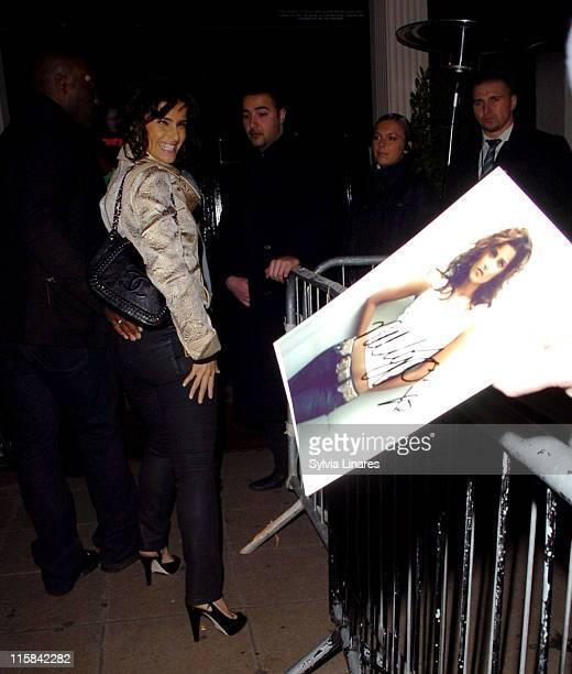 Nelly Furtado during Nelly Furtado Sighting at Movida Club in London February 21 2007 at Movida Club in London Great Britain
