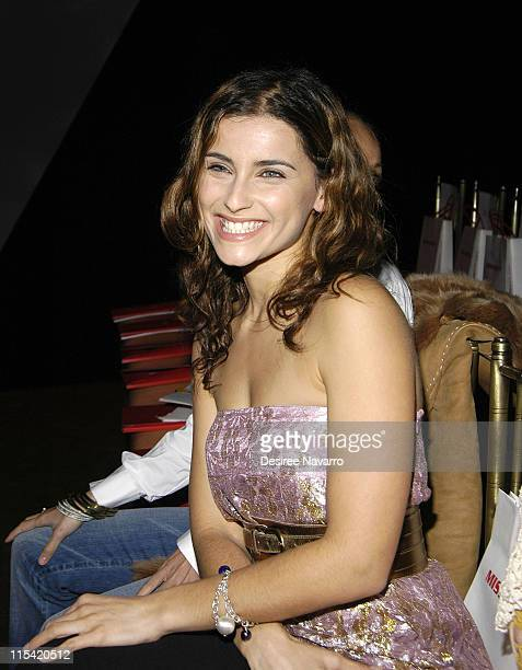 Nelly Furtado during Olympus Fashion Week Fall 2006 Miss Sixty Front Row and Arrivals at Capitale in New York City New York United States
