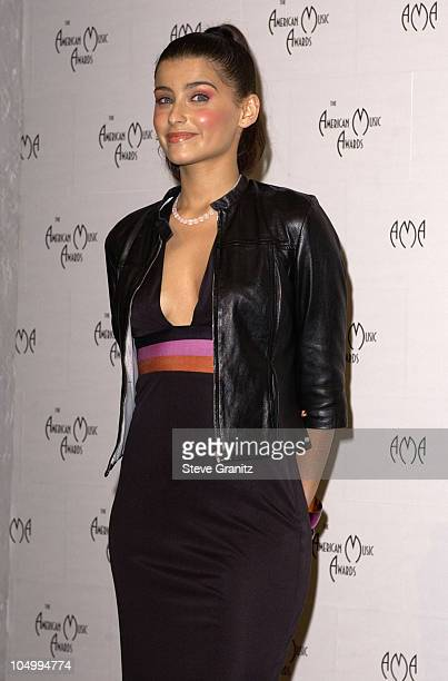 Nelly Furtado during The 29th Annual American Music Awards Press Room at The Shrine Auditorium in Los Angeles California United States