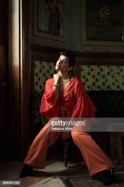 Nelly Furtado is photographed for Noisey on March 1 2017 in Los Angeles California