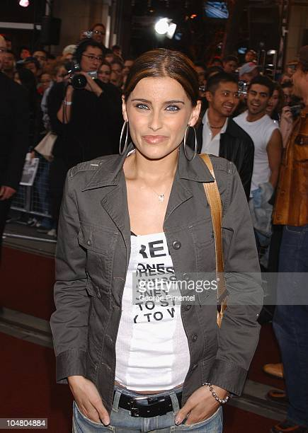 Nelly Furtado on the red carpet at the MMV Awards during MuchMusic Video Awards 2002 - Arrivals at Chum City Building in Toronto, Ontario, Canada.