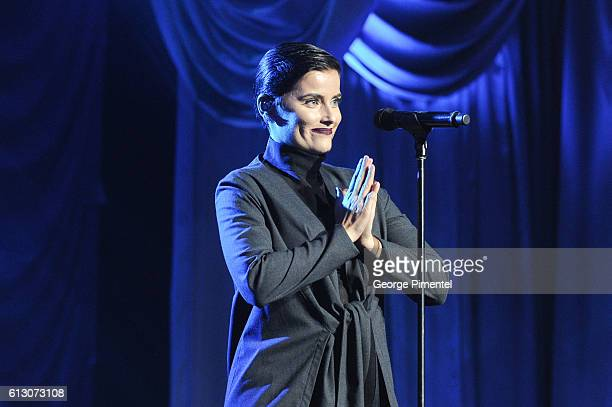 Nelly Furtado performs at 2016 Canada's Walk of Fame at Allstream Centre on October 6, 2016 in Toronto, Canada.