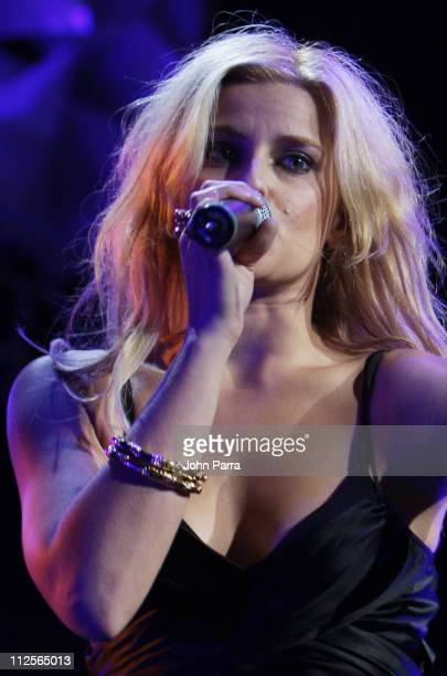 Nelly Furtado performs during the Y100 Jingle Ball concert December 15 2007 at the Bank Atlantic Center in Sunrise Florida