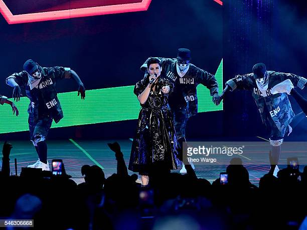 Nelly Furtado performs onstage during the VH1 Hip Hop Honors All Hail The Queens at David Geffen Hall on July 11 2016 in New York City
