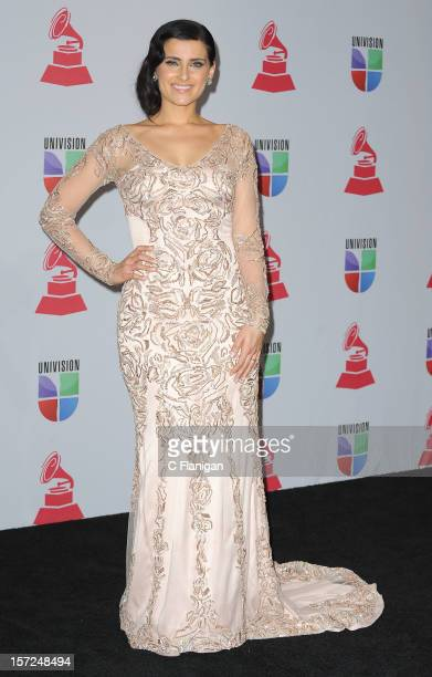 Nelly Furtado poses backstage during the XIII Annual Latin Grammy Awards at Mandalay Bay Events Center on November 15 2012 in Las Vegas Nevada