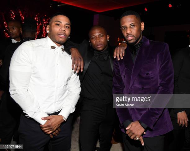 Nelly guest and Fabolous attend Sean Combs 50th Birthday Bash presented by Ciroc Vodka on December 14 2019 in Los Angeles California
