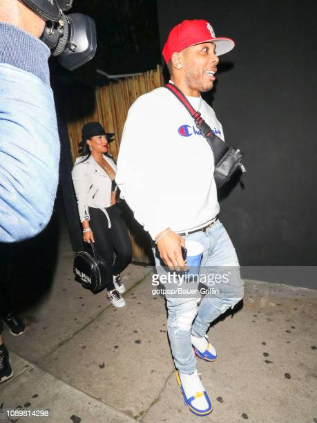 Nelly is seen on January 26 2019 in Los Angeles California