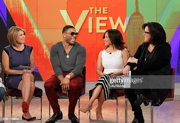 THE VIEW Nelly is the guest today Thursday October 30 2014 on Walt Disney Television via Getty Images's The View The View airs MondayFriday on the...